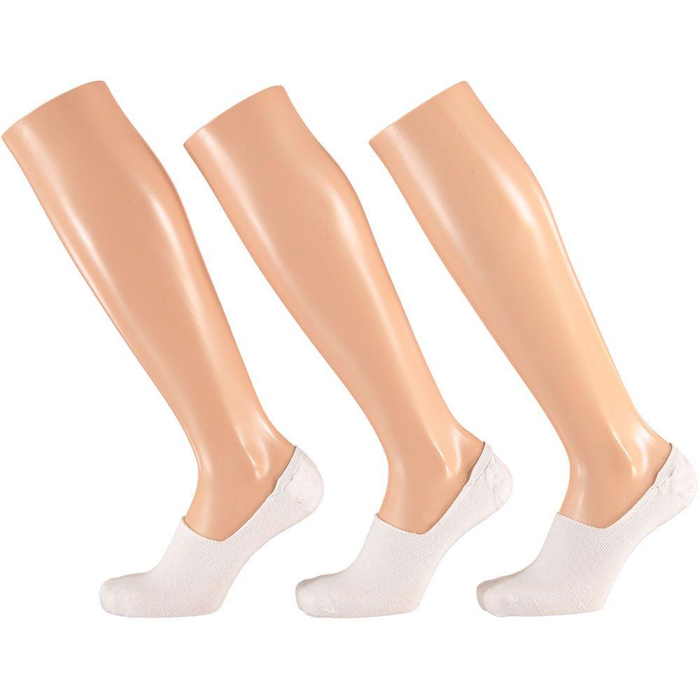 Apollo No Show Enkel Sokken Wit 31 35