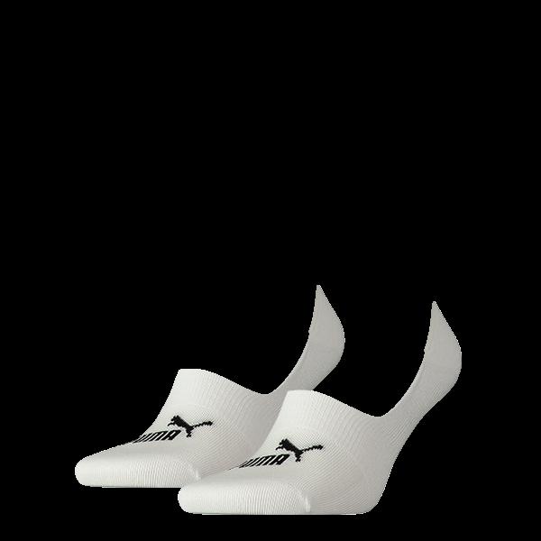 Puma sokken Footie wit 2 pack 35 38