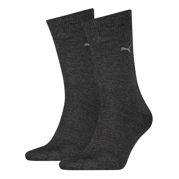 Puma 2-pack Classic Sock Men Anthracite-39-42