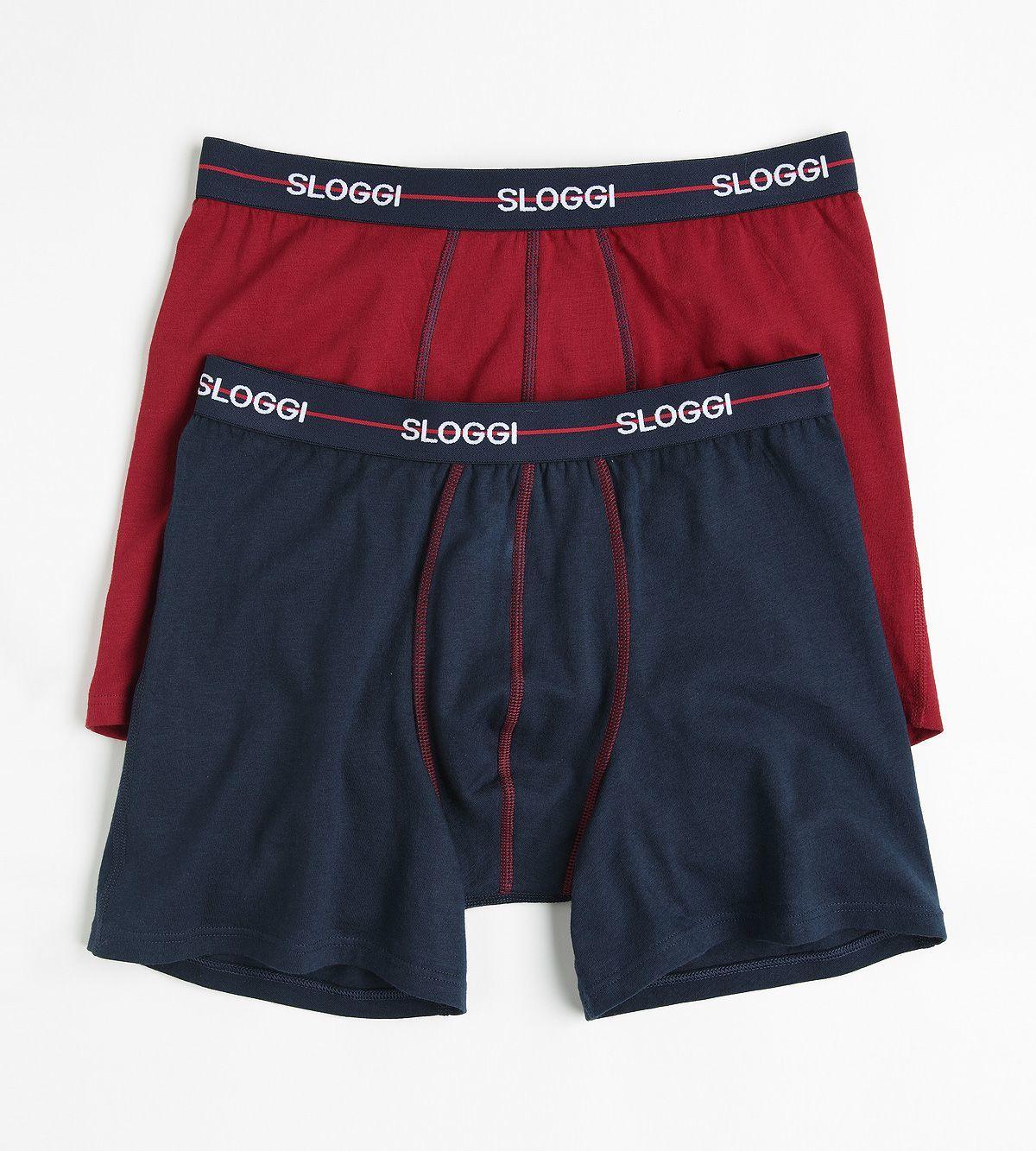 Sloggi Men Basic Short Red S