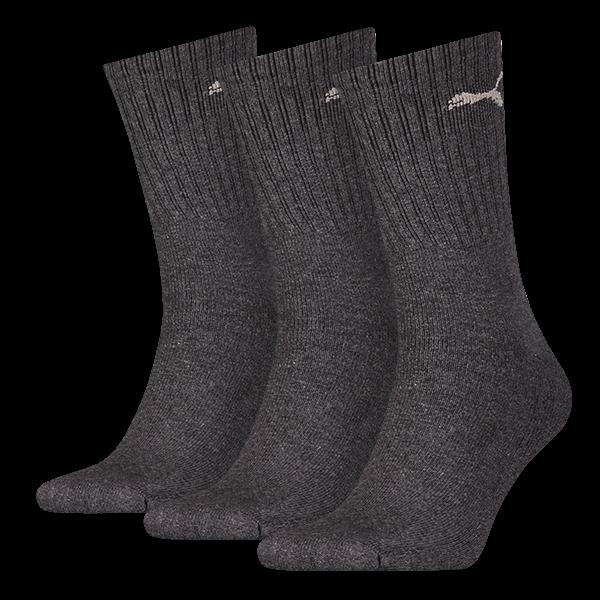 Puma sokken sport sokken antraciet 3 pack 39 42