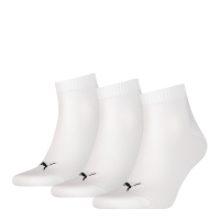 Puma sokken Quarter wit 3-pack