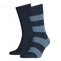Tommy Hilfiger Sokken Men Rugby Jeans 2-Pack