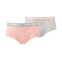 Puma Iconic Mini Short Dames Light Pink 2-Pack