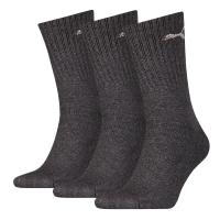 Puma sokken Sport antraciet 3-pack