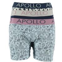Apollo boxershorts 3-pack Fashion Cotton Multi Color