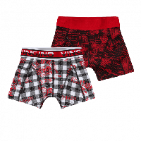 Vingino Boys Short Jelle 2-pack Red