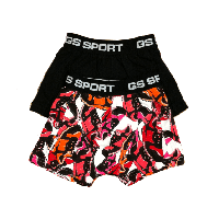 GS Sports Boys 2-pack Zwart