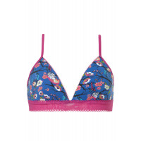 Ten Cate Girls Padded Bra Top Blossom Blue