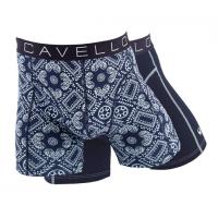 Cavello Boxershorts Donkerblauw print