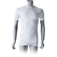Cavello T-Shirts Ronde hals Wit 2-pack
