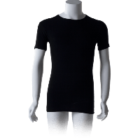 Cavello T-Shirts Ronde hals Zwart 2-pack