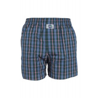 DEAL International boxershort Kartiert groen blauw