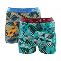 JC Boxershorts H230 Geel/Groen