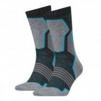 HEAD Hiking Crew sokken 2-pack Unisex Grey/blue