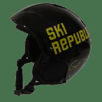 Cairn Skihelm Ski Republic  zwart/geel - Diverse maten