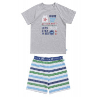 Lief! Boys shortama 40013 Big Stripes
