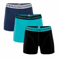 Muchachomalo 3-Pack Men Shorts Solid 228