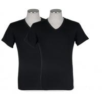 Puma 2-pack V-Neck T-shirt Zwart