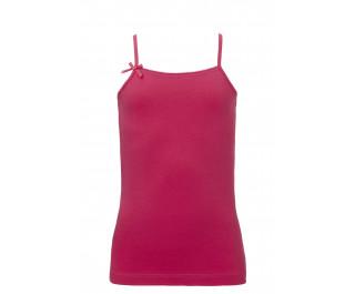 Ten Cate Girls Basic Spaghetti Shirt Red Rose