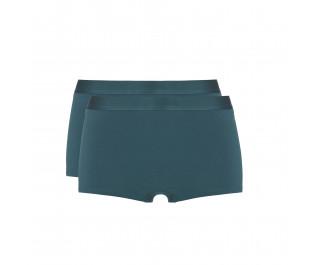 Ten Cate Fine women Shorts Dark Pine 2-pack