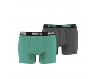 Puma Basic Boxer Navigate / Grey Mela 2-Pack