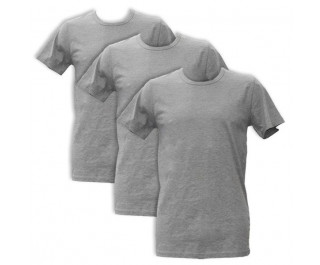 Apollo Heren T-shirts O-Neck 3-pack Light Grey