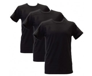 Apollo Heren T-shirts O-Neck 3-pack Black
