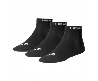 Head Quarter Sock Black 3-pack