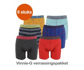 Vinnie-G Boxershort Verrassingspakket 6-pack