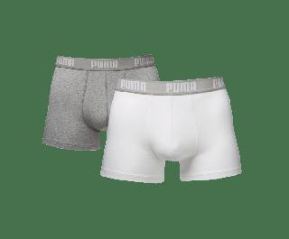 Puma Basic White / Grey Melan