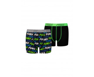 Puma Boys boxers Blue/Green 2-pack