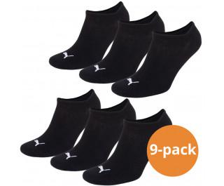 Puma sokken Sneaker Zwart 9-pack