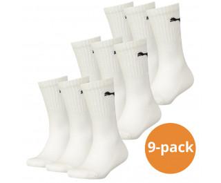 Puma sokken Sport wit 9-pack