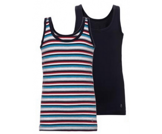 Ten Cate 2-pack Boys Singlet Basic