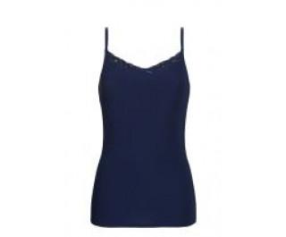Ten Cate Secrets Naadloos Spaghettishirt Lace 3613 Dark blue