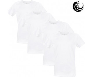Vinnie-G t-shirt wit 4-pack