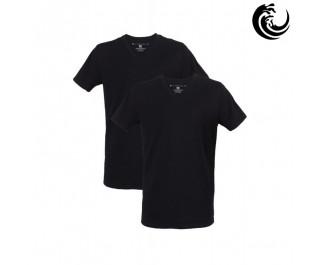 Vinnie-G t-shirt zwart v hals 2