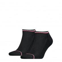 Tommy Hilfiger Men Iconic Sneaker Black 2-Pack
