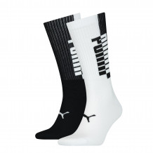 Puma Sokken Heren 2-pack Black/White