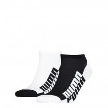 Puma Sneaker Sokken Heren 2-pack Black/ White