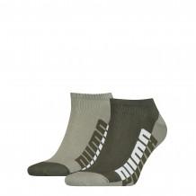 Puma Sneaker Sokken Heren 2-pack Green