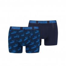 Puma Boxershorts AOP 2-pack Blue