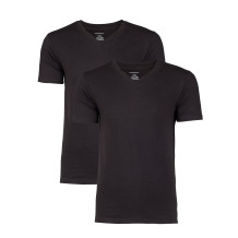 Basic T-shirt heren Zwart