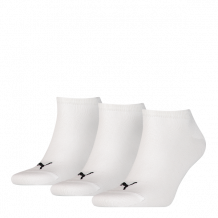 Puma sokken invisible wit 3-pack