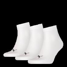 Puma sokken halfhoog 3-pack wit