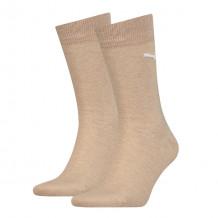 Puma sokken classic Beige Melange 2-pack