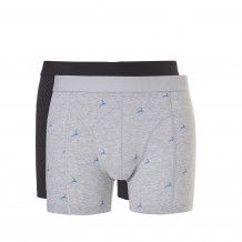Ten Cate Men Basic Shorts Blue Deer Black Graphic