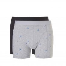 Ten Cate Men Basic Shorts Blue Deer Black Graphic