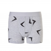 Ten Cate Boys Shorts 13-18Y Early Bird Light Grey Melee